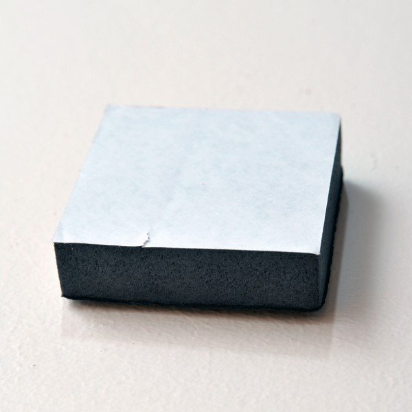 3 x 3 foam squares by 3/4 inch thick