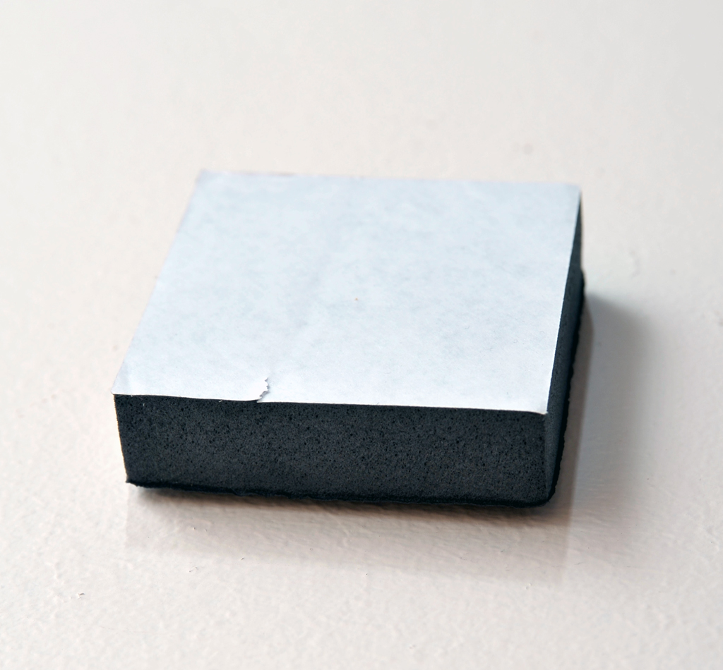 "Foam Blocks (3"" x 3"" x 0.75"" thick) 