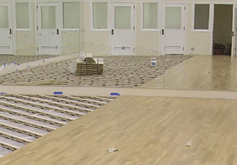 Permanent Flooring Systems Installation 2 Stagestep