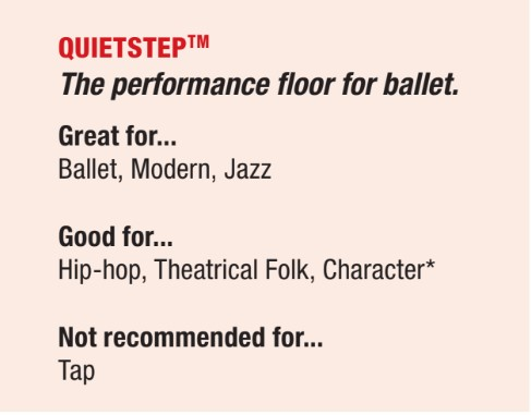 quietstep dance floor