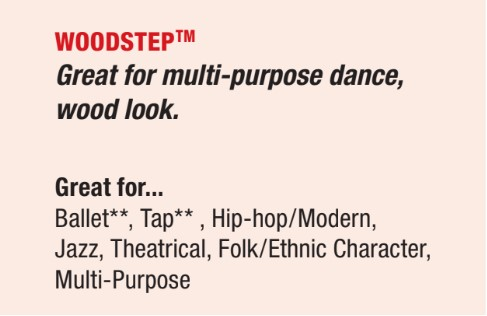 woodstep dance floor