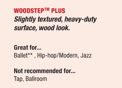 woodstep plus dance floor