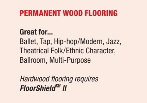permanent wood flooring