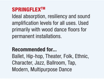 springflex dance floor